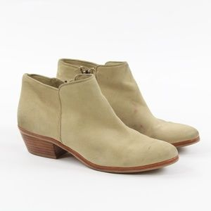 Sam Edelman Petty Suede Ankle Heel Booties